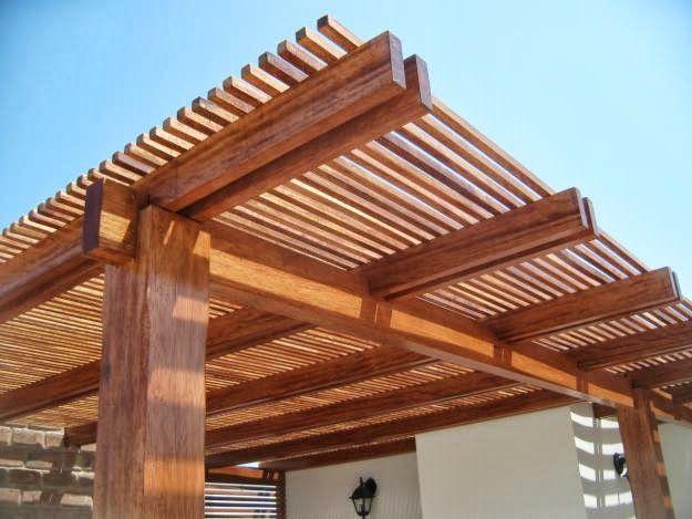 M s de 1000 ideas sobre cubierta de p rgola en pinterest - Cubiertas para pergolas de madera ...
