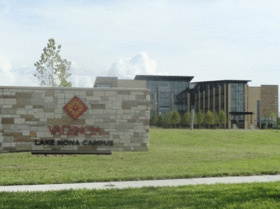 Valencia College's Lake Nona campus opened Monday, August 20. Take a look around with these photos from @OBJUpdate