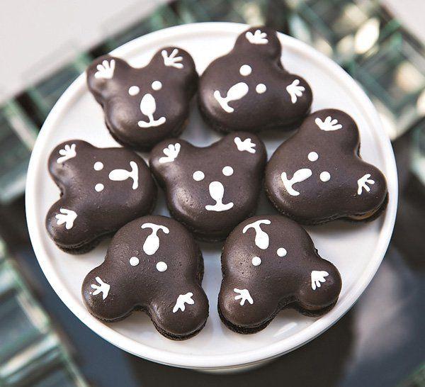 koala bear macarons