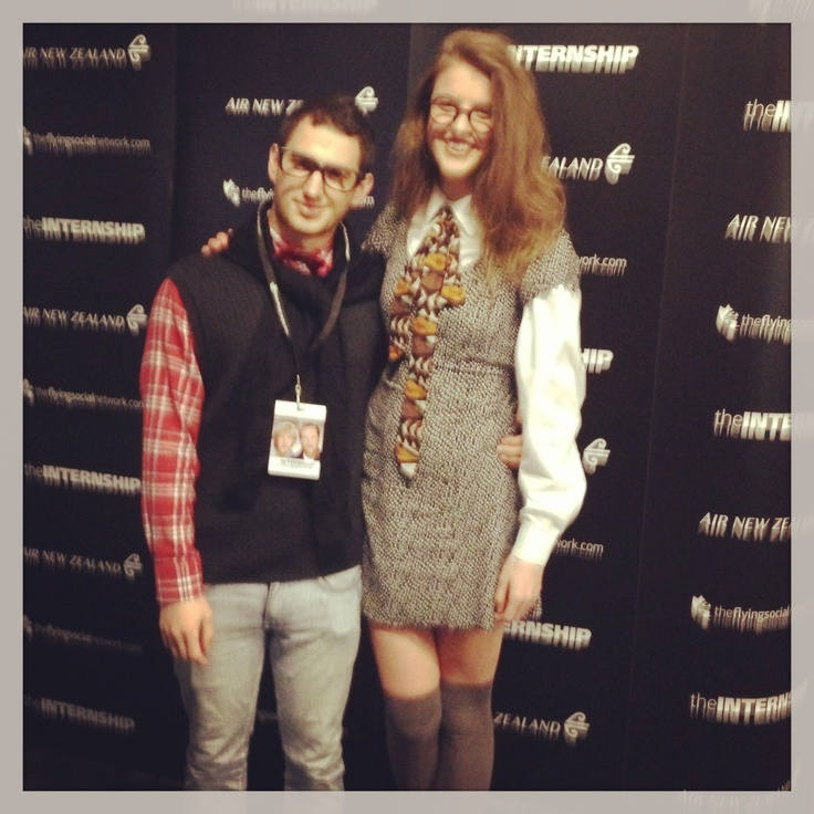 At The Internship Air New Zealand Red Carpet Premiere in Auckland #AirNZGetYourGeekOn
