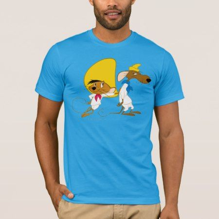 SPEEDY GONZALES™ and Friend T-Shirt - tap, personalize, buy right now!
