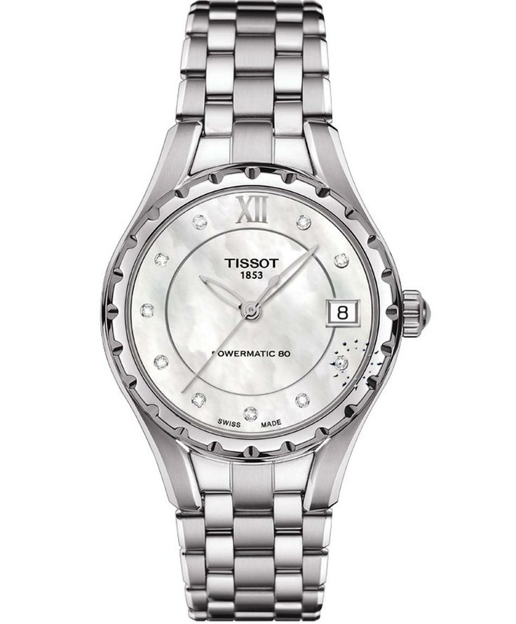 TISSOT Τ072 Ladies Powermatic 80 Stainless Steel Bracelet Η τιμή μας: 796€ http://www.oroloi.gr/product_info.php?products_id=36523
