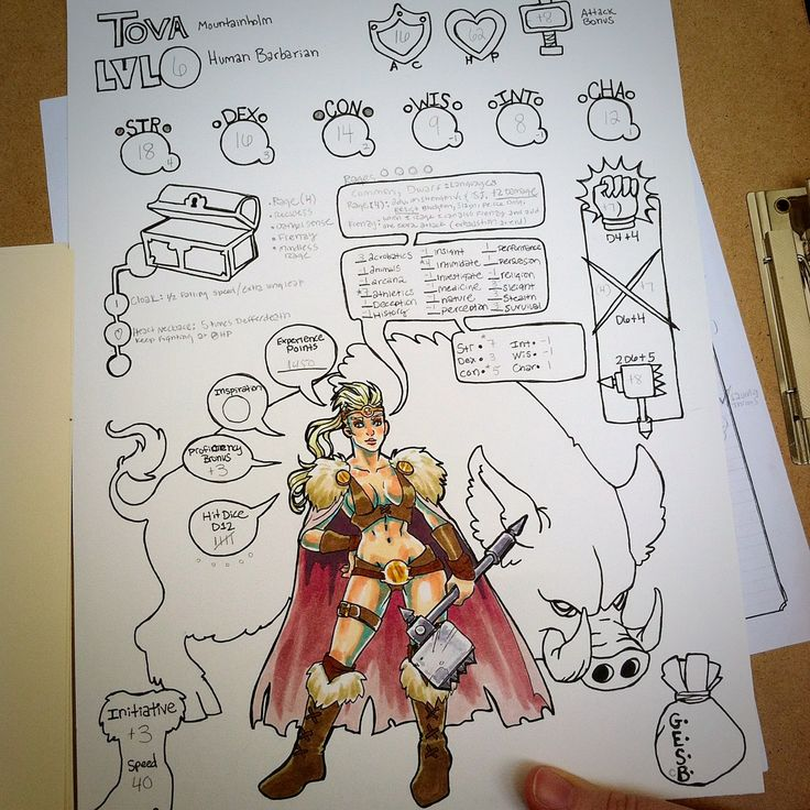 cool character sheets 5e pdf