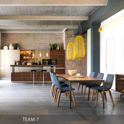 TEAM 7 Küche K7 mit Essbereich
