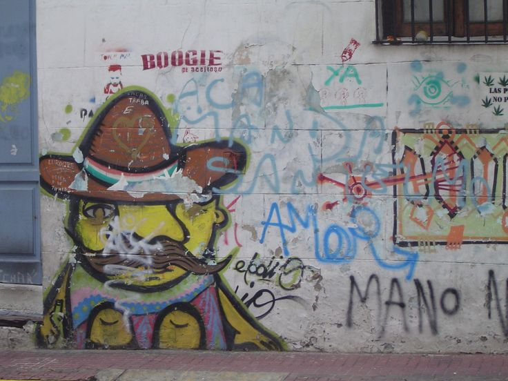 Graffitti: South American style, San Telmo, BA