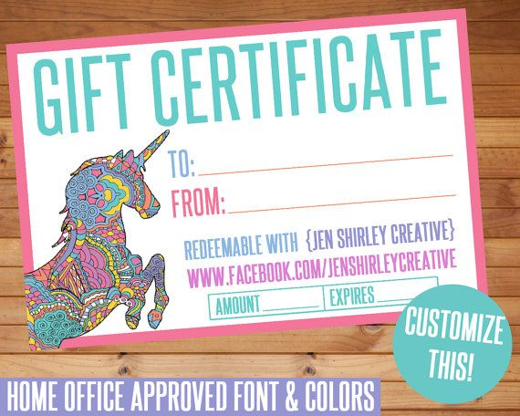 gift certificate  digital files  ho approved fonts  gift