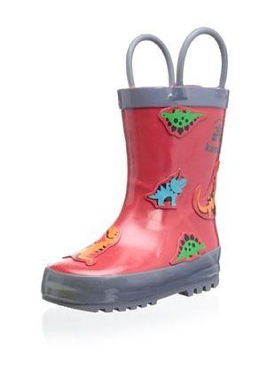 46% OFF Kamik Kid's Rex Rain Boot (Red Rouge)