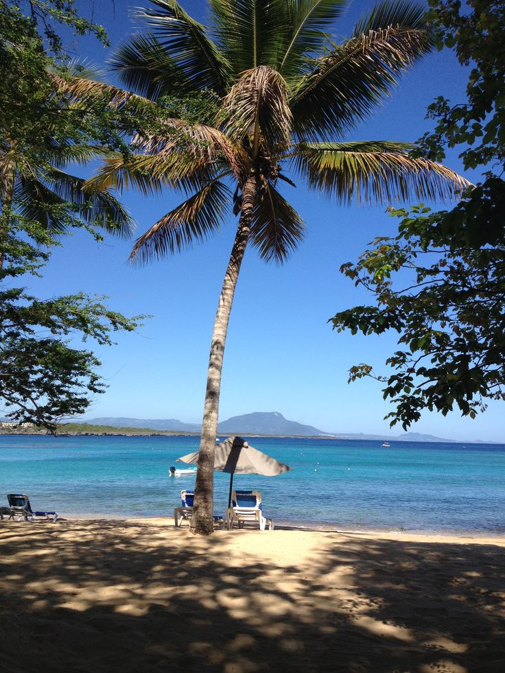 Sosua Beach or Playa Sosua on the North Coast of the Dominican Republic has clear turquoise waters and fine sand perfect for swimming and making sandcastles.