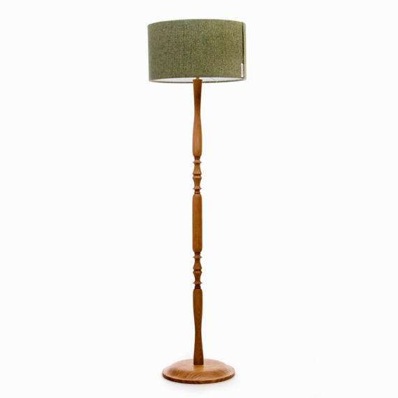 Wooden Floorlamp Oak Wood Standard Lamp Tall Lamp Classic Floor Lamp Classic Floor Lamps Tall Lamps Standard Lamps