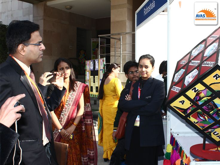 Mr Amit Bajaj, Maths HOD  of CRPF School, Rohini, judging the national maths exhibition as JUDGE at IIT Delhi, in an event organized by AVASINDIA