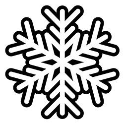 Snowflake Coloring Page 12