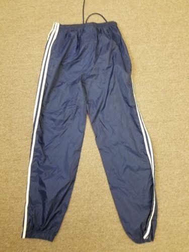 Mens Adidas athletic pants navy blue size Medium