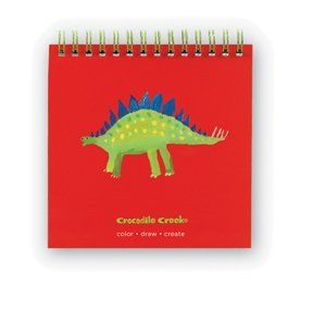 "Crocodile Creek Doodle Pad Stegosaurus by Crocodile Creek. $4.99. Crocodile Creek 11055 - Crocodile Creek 11055 - A high quality spiral bound doodle pad - perfect for the traveling young artist. Measures 5"" x 5"". Contains 60 blank pages. Recommended for 3 years and up. Made in China."