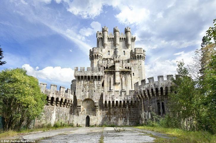 Butrón Castle - Imgur