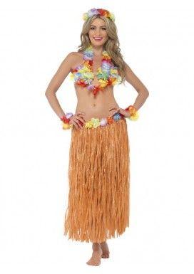 Disfraz de hawaiana Hula para mujer www.disfrazdisfraz.com