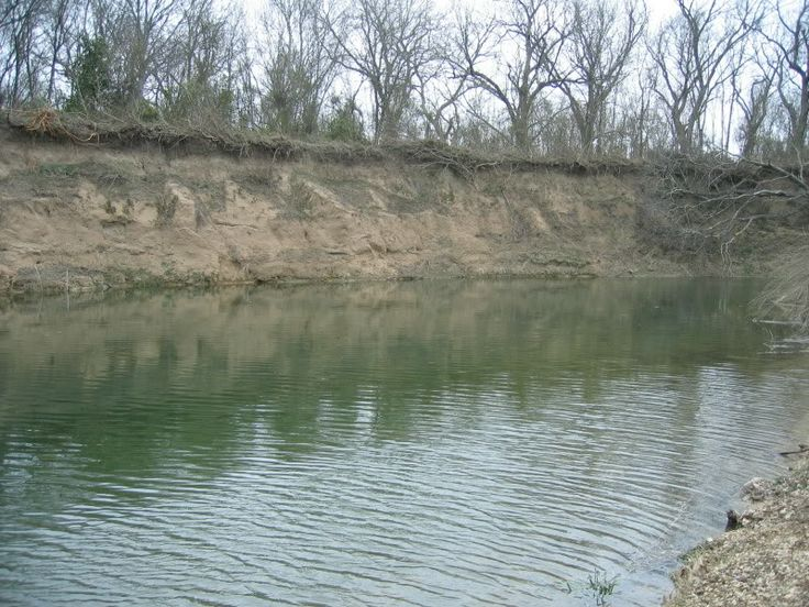 San Gabriel River ....north of Taylor, Texas....good ol' river for catching some good eatin' catfish.. float down from Jonah to Rowe Valley in our inner tubes...