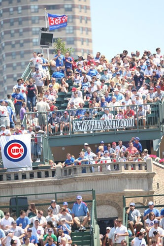 """Best place to pregame before baseball game is on a rooftop deck in Wrigleyville!"" - @CHILighthouse"