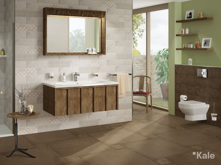 İlhamını ahşap sandıklardan alan, sıcak, çekici ve sade Crate Serisi. #Kale #banyo #tasarım #bathroom #bathroomidea #dekorasyon #dekorasyonönerileri #decorationidea #modern #modernbathroom #moderndecor #modernevler