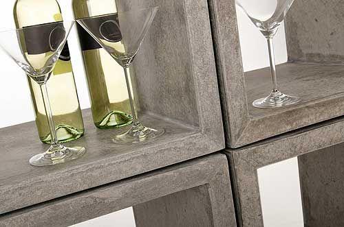 Cooles Design: Regale aus Faserbeton » Pflanzkübel-Blog von AE Trade