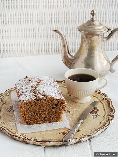 Кофейный+кекс+с+грецкими+орехами