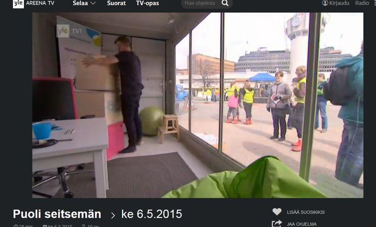 HSY:n Ilmastoinfo järjesti Helsingissä tapahtuman, jossa opetettiin varautumaan sään ääri-ilmiöihin. Communiké vastasi tapahtuman medianäkyvyydestä. Juttu Yle tv 1:n Puoli Seitsemän -ohjelmassa 6.5.2015.