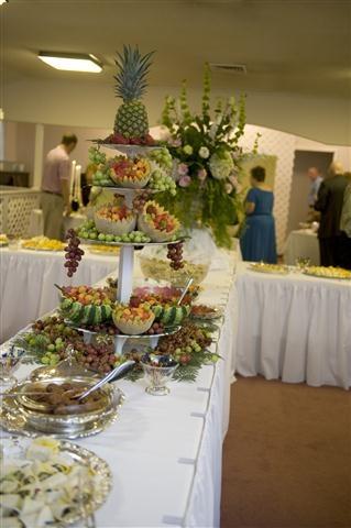 Food Artfully arranged for Buffet