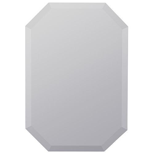 Quest Frameless Beveled Mirror Cooper Classics Frameless Mirrors Home Decor