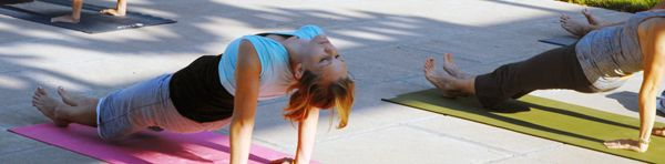 Morning Yoga at West of the Moon Writer's Retreat by Lafayette Wattles, via Behance
