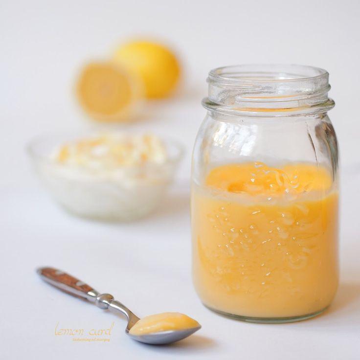 Lemon curd citronový krém