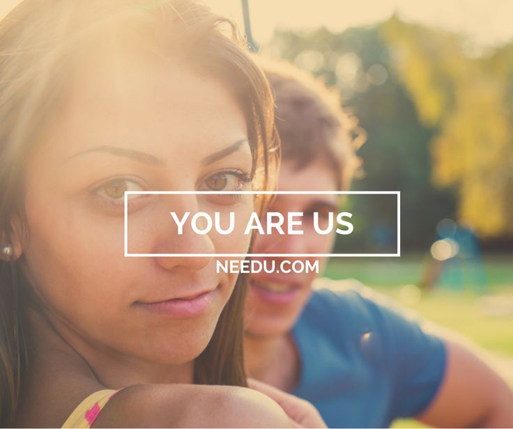 You are Us. Without you there is no needu. You are part of us and we are part of you. All of us evolves around you. To give you what you came for. To give you more. To give you all we got.