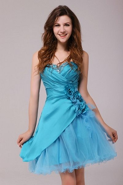 Sweetheart A-Line Tulle Graduation Gowns wr2550 - http://www.weddingrobe.co.uk/sweetheart-a-line-tulle-graduation-gowns-wr2550.html - NECKLINE: Sweetheart. FABRIC: Tulle. SLEEVE: Sleeveless. COLOR: Blue. SILHOUETTE: A-Line. - 139.59