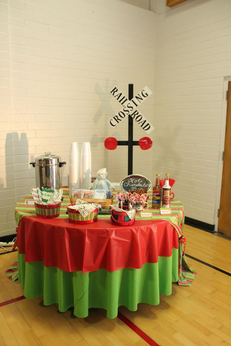Polar Express Party...for the grandkids!