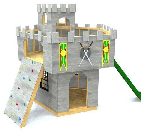 King Author's Castle Plan