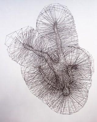Antony Gormley Wire Sculptures