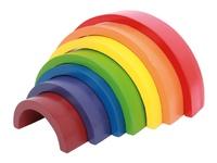 Arc-en-ciel coloré en bois - Jeux éducatifs Coccinelle
