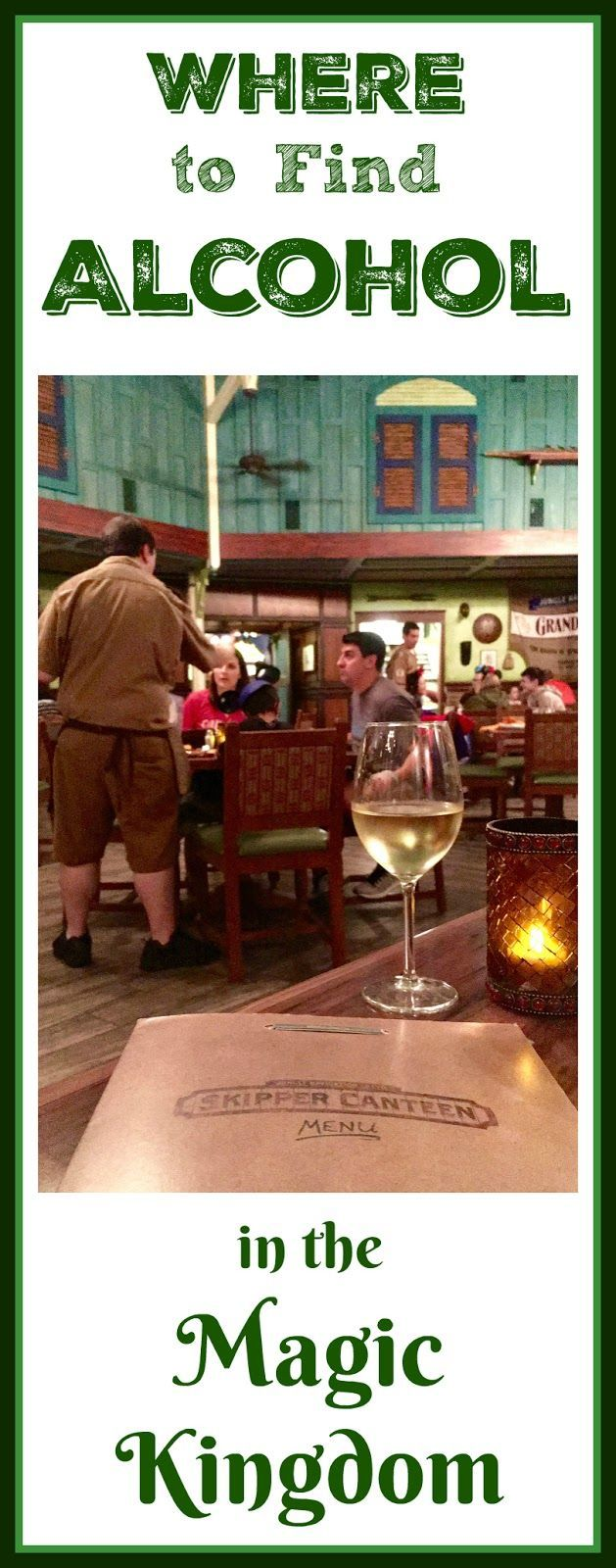 Disney World Food, Drink and Restaurants | Where to Find Alcohol in the Magic Kingdom