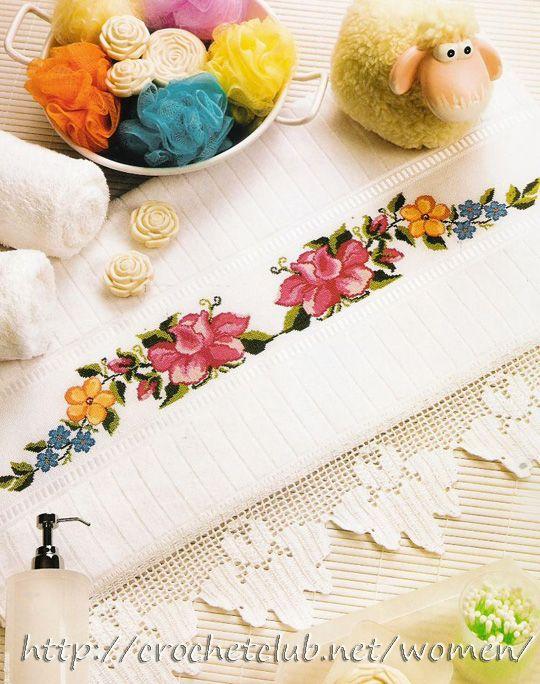 салфетка с яркими цветами 1