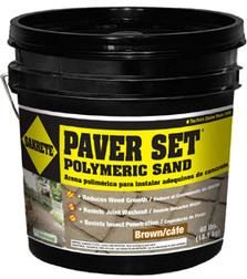 Paver Set Polymeric Sand - Sakrete - Lock in Paver Sand and Inhibit Weed Growth.