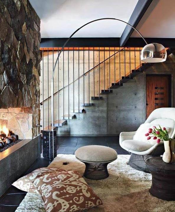 Beautiful Wohnung Mit Deckenfluter Einrichtern Modern Gallery