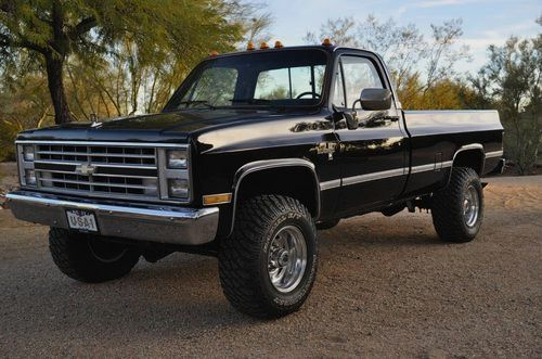 GM Trucks — 1986 Chevy Truck.