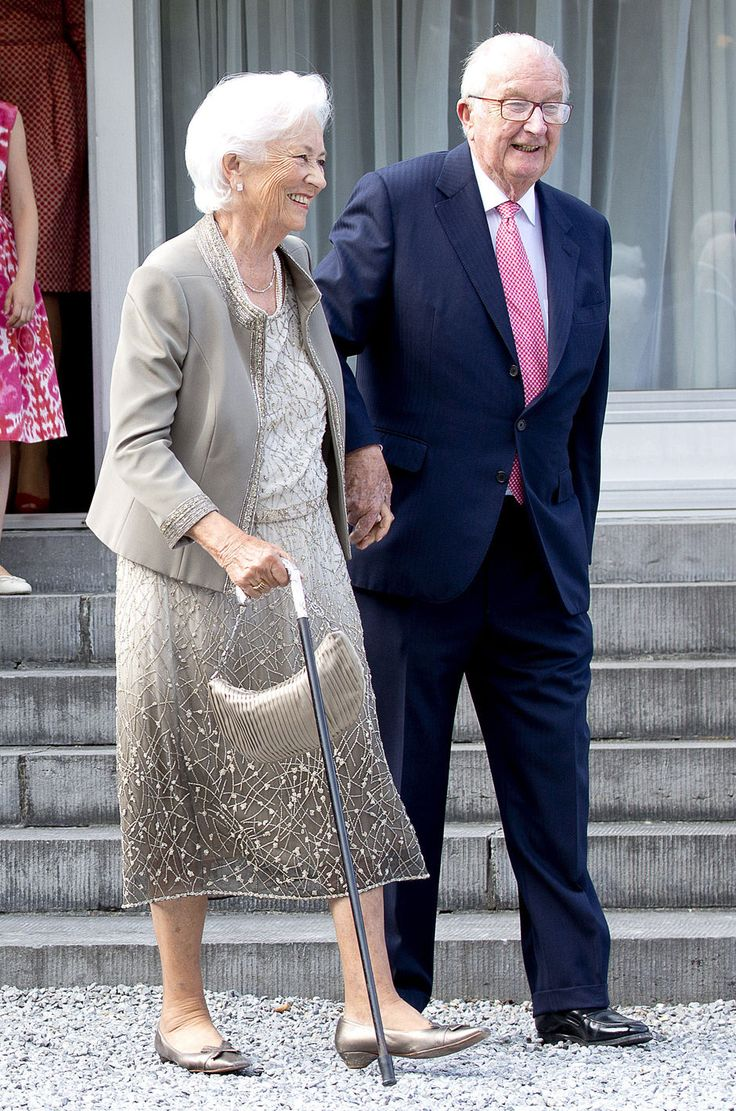 King Albert and Queen Paola of Belgium attend the 80th birthday celebrations of Belgian Queen Paola on June 29, 2017 in Waterloo, Belgium. The celebration is organized by the Queen Paola Foundation, music band Queen Elisabeth and Missing Children Europe with as theme music and frienship.