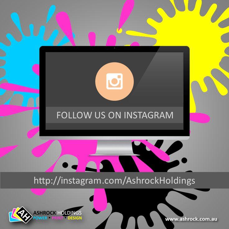 Follow us on #instagram @ http://instagram.com/ashrockholdings