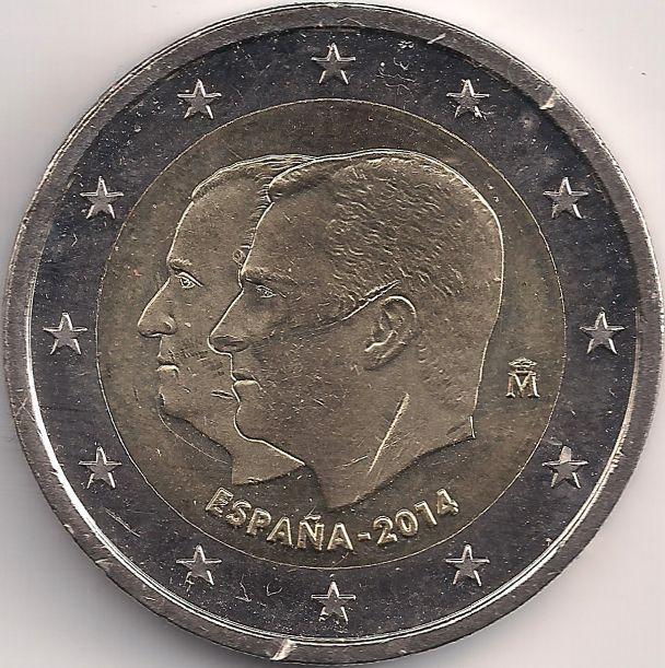Motivseite: Münze-Europa-Südeuropa-Spanien-Euro-2.00-2014-Felipe VI