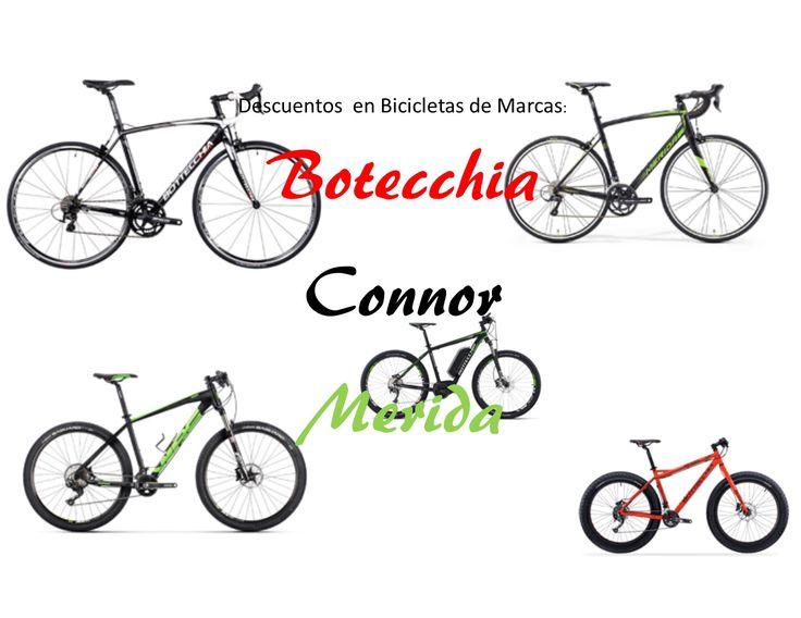 Descuentos bicicletas de hasta 34% en marcas Botecchia, Connor y Merida
