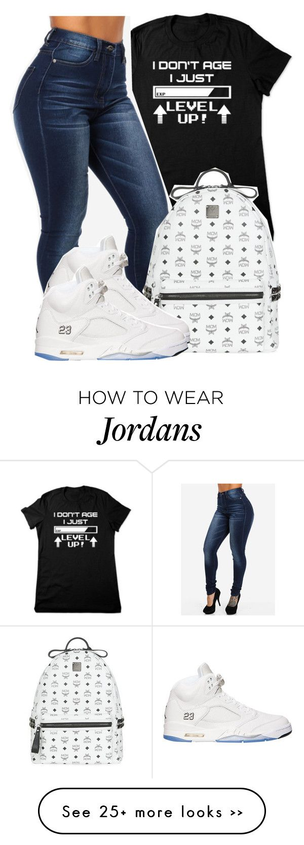 Cause its my Birthday I would wear this on my Birthday. by bria-queen-ovoxo on Polyvore featuring MCM