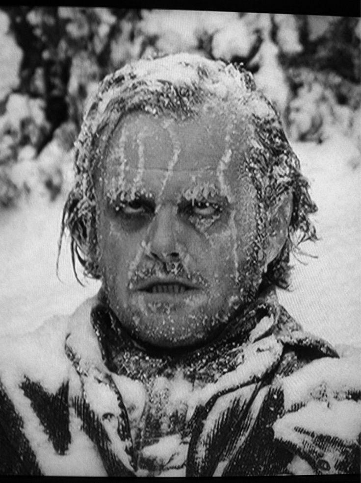"Jack's fate. ""The Shining"" 1980 dir. Stanley Kubrick."