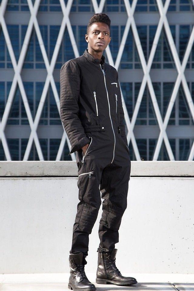discount sale order online outlet store sale Jon The Gold - H&M Black Jumpsuit - The Jumpsuit | Men's ...