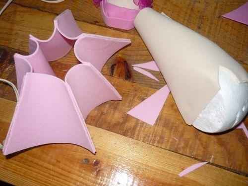 Como hacer falda de fofuchas - Imagui