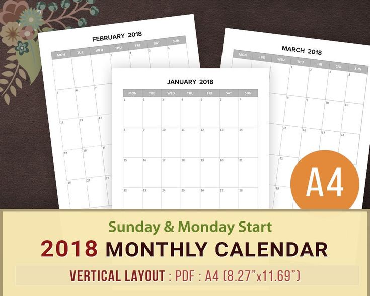 Best  Blank Monthly Calendar Template Ideas On