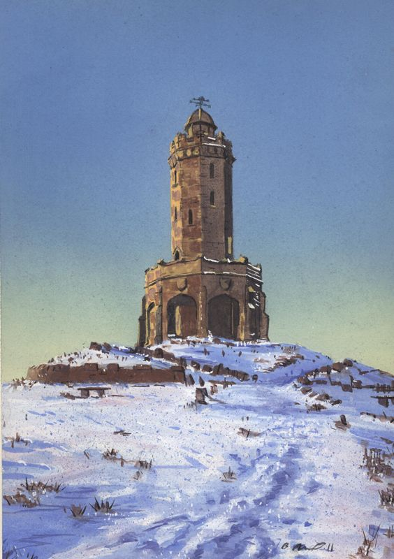 Billy Almond, Darwen Tower